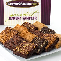 Brownies Sampler Bakery Gift (8825)