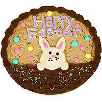 Easter Bunny Basket Cookie Cake (8696)