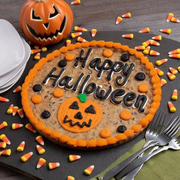 Halloween Cookie Cake Designs
