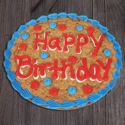 Happy Birthday Cookie Cake (8661)