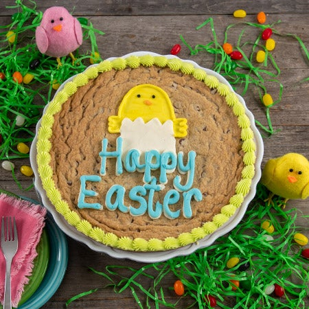 Happy Easter Cookie Cake