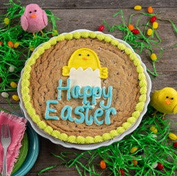 Happy Easter Cookie Cake (8695)