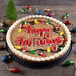 Happy Holidays Cookie Cake (8680)