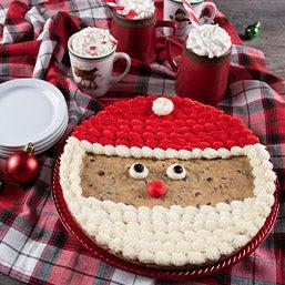 Santa Cookie Cake (8681)