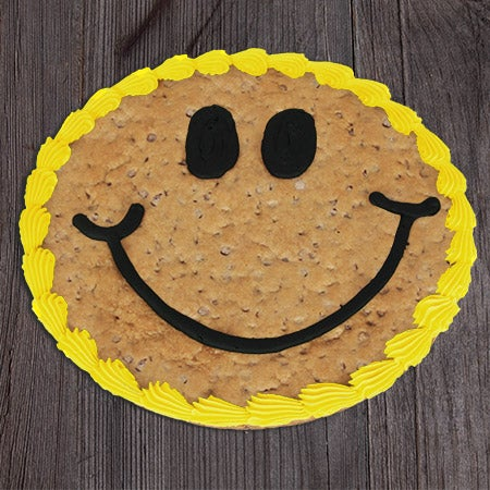 Cookie cake smile