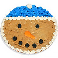 Snowman Cookie Cake (8682)