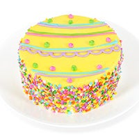 "Easter Egg Specialty 6"" Cake"