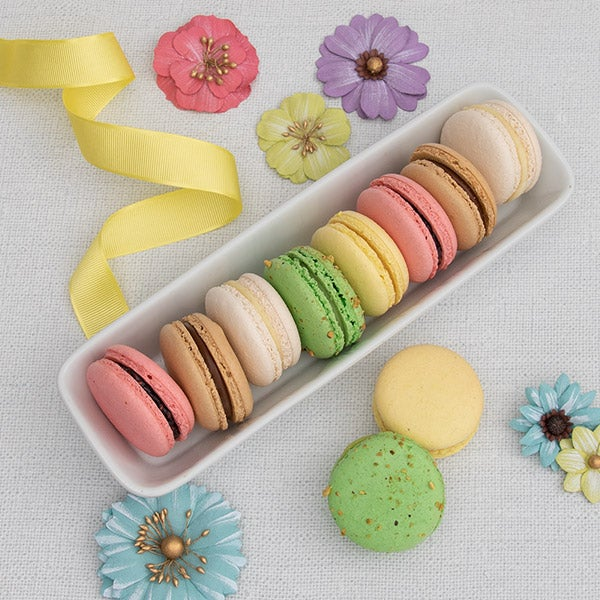 French Macarons Variety Gift - 10 French Macarons