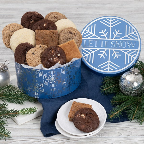 Let It Snow Baked Goods Gift Box 8985