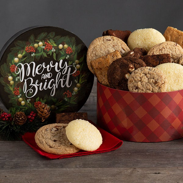Merry & Bright Baked Goods Gift Box 8986