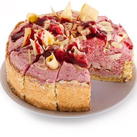 Raspberry Eruption Cake By Gourmetgiftbaskets Com