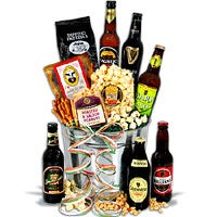 Irish Beer Bucket Gift Basket™ - 6 Beers (4504)
