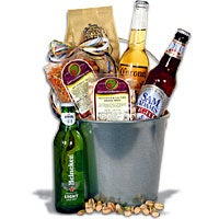 Light Beer Bucket Gift Basket™ - 3 Beers (4506)