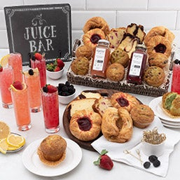 Ultimate New England Brunch Gift Basket (5024)