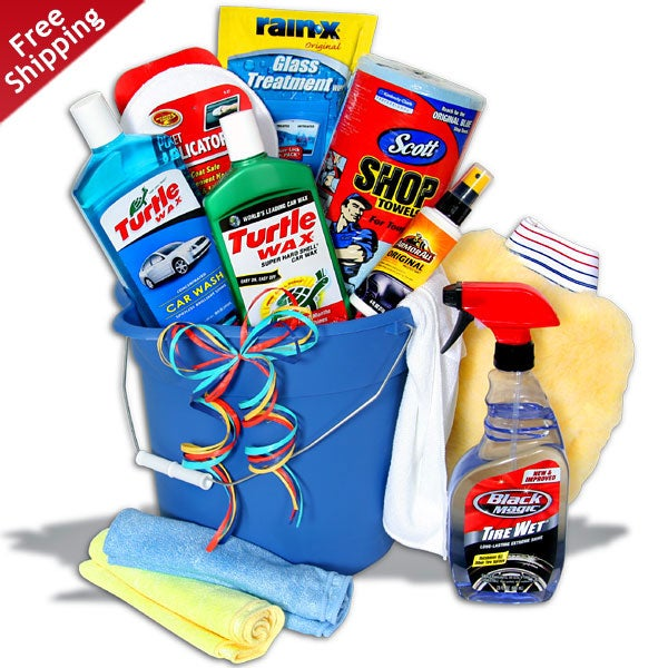 Father's Day Car Wash Bucket Deluxe