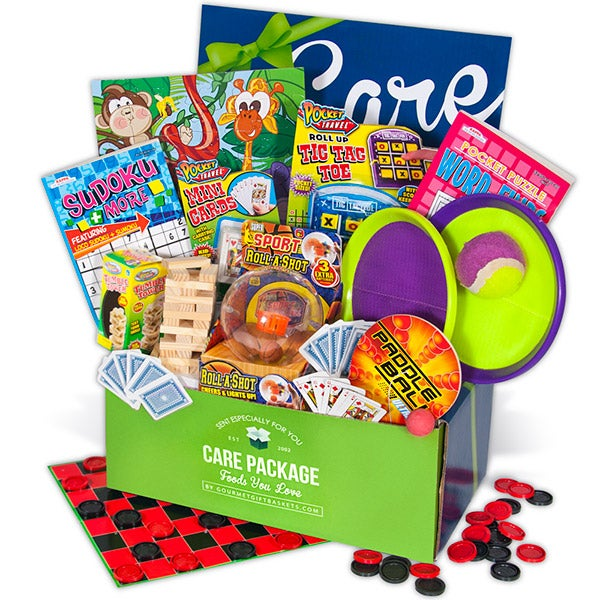Activities, Games & Puzzles Care Package