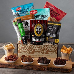 Care Package Idea for Men - makes perfect mens gift baskets!