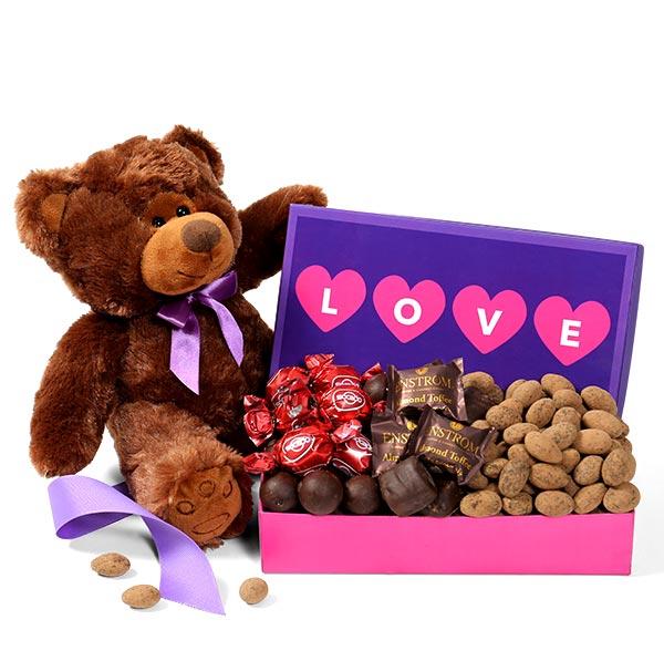 Send a Bear Hug Care Package by GourmetGiftBaskets.com