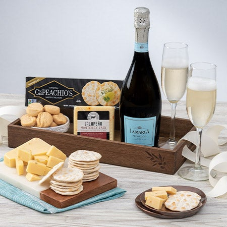Classic Champagne Gift Basket