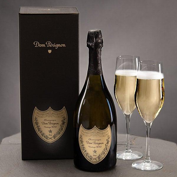 Dom Perignon 750ml With Gift Box by GourmetGiftBaskets.com