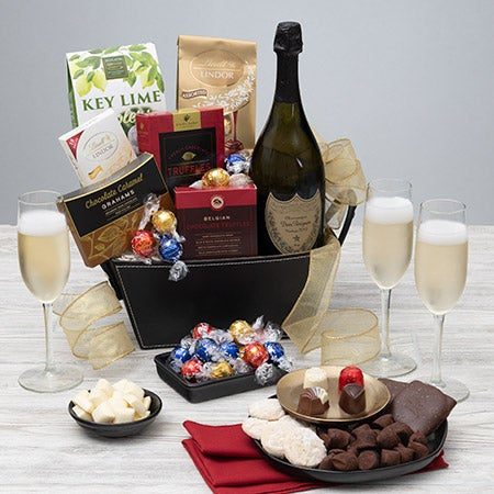 Dom Perignon Gift Basket - Veuve (1 bottle)
