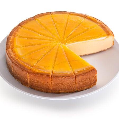 Blood Orange Cheesecake by GourmetGiftBaskets.com