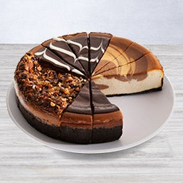 Chocolate Lover's Cheesecake Sampler