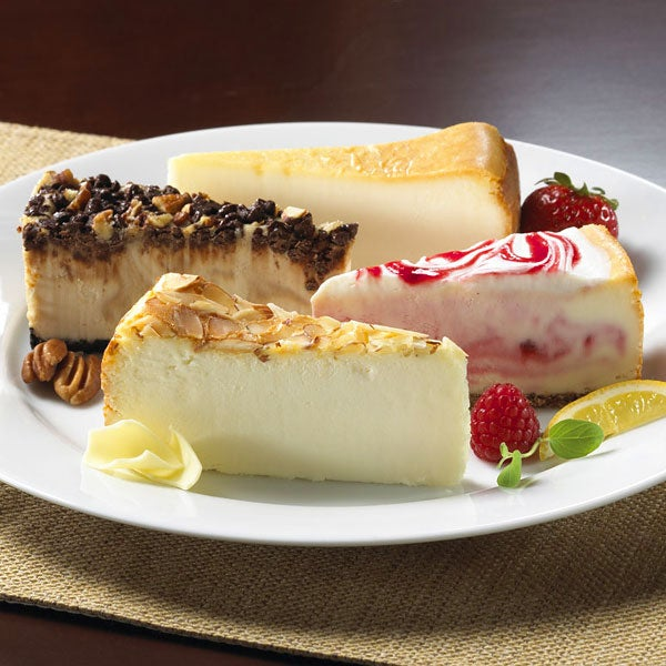 Gourmet Cheesecake Sampler