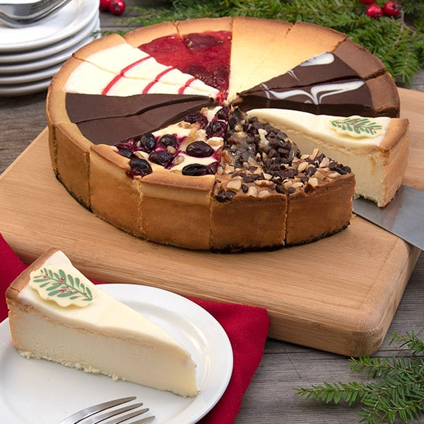 Holiday Cheesecake Sampler