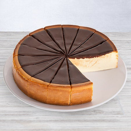 New York Chocolate Fudge Cheesecake