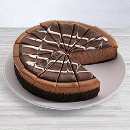 Triple Chocolate Cheesecake (8034)