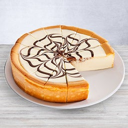 White Chocolate Swirl Cheesecake (8035)