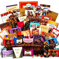 Chocolate Gift Basket Jumbo - Sweet Decadence (4065)