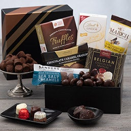 Chocolate Gift Basket of Treats (1057)