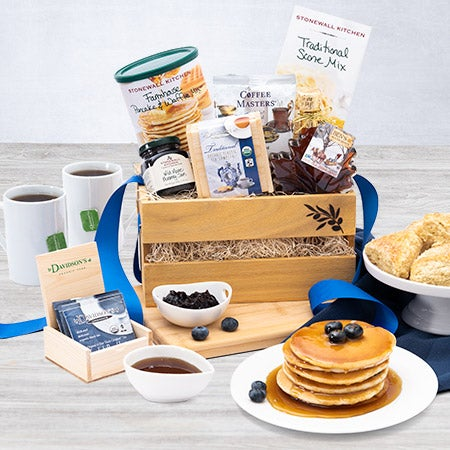 Breakfast Gift Basket for Christmas