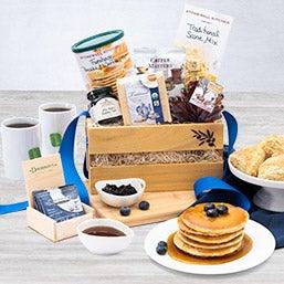 Breakfast Gift Basket for Christmas