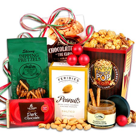Christmas Gift Basket - Stack