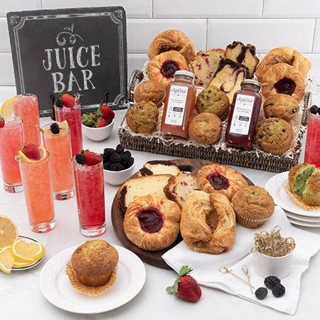 Wedding Morning Gift Basket : Christmas Food GiftsIdeasGift basket