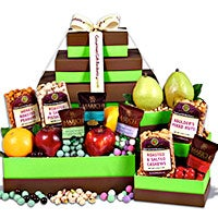 Holiday Decadent Orchard Gift Tower (5335)