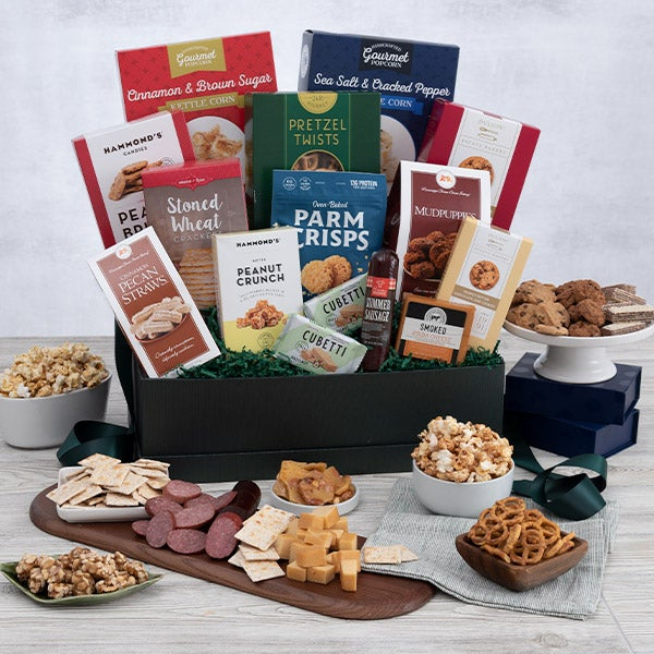 Family christmas gift by for Christmas gift basket ideas for families