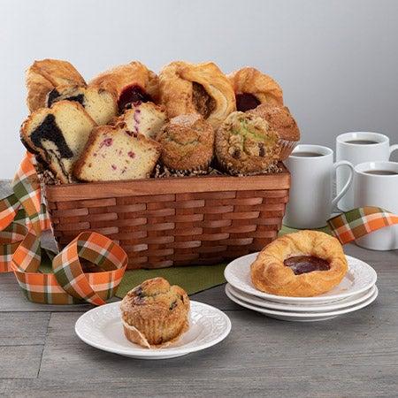 Gift Basket for Christmas Breakfast