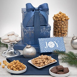 Happy Holidays Snack Gift Box