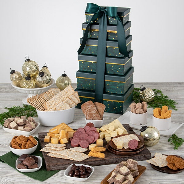 Holiday Food Gift Basket of Treats