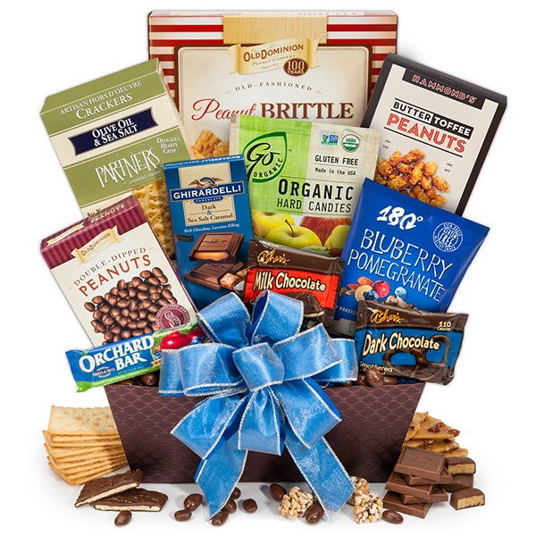 Merry Wishes Gift Basket