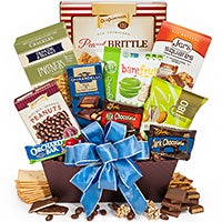 Merry Wishes Gift Basket (1325)