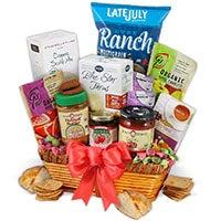 Organic Christmas Gift Basket
