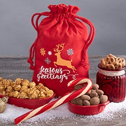 Season's Greetings Holiday Snack Gift