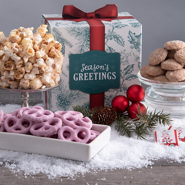 Season's Greetings Snack Gift Box