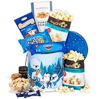 Winter Wonderland Snack Tin