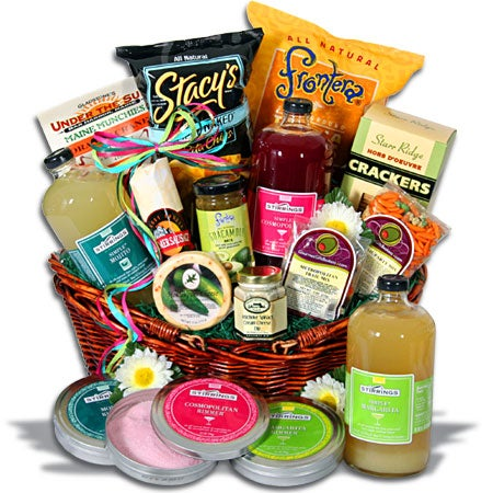 Cocktail Party Gift Basket - Deluxe